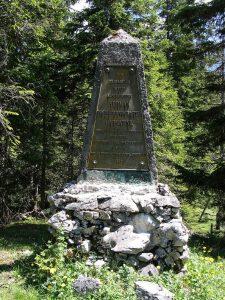 Ahornboden, Hermann von Barth Memorial, Austria