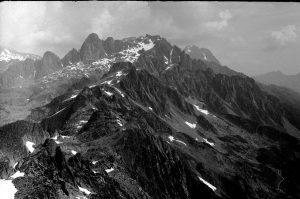 Aiguilles Rouges mountains, Brevent mountain, France
