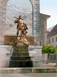 Altdorf UR, Wilhelm Tell Memorial, 1900, Switzerland