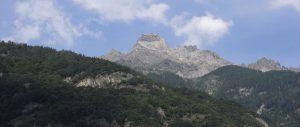 Dent de Morcles mountain VS, Switzerland