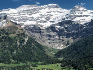 Diablerets mountain range VS, Switzerland
