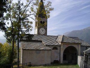 Elva, Church of Santa Maria Assunta, Italy