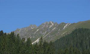 Gargellen Valley, mountain ridge, Austria