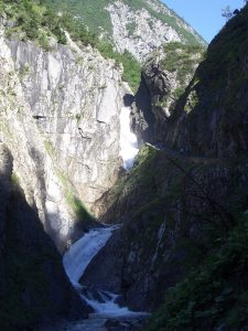 Holzgau, Simms waterfall, Austria
