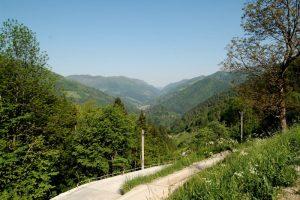 Idrija, mountains, Slovenia