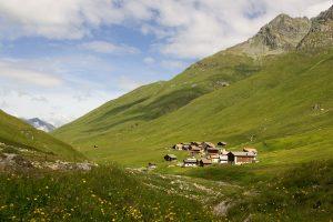 Juf GR, Avers Valley, Switzerland
