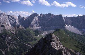 Laliderer Wand mountains, Austria