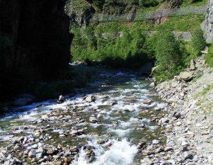 Mastallone river, Italy
