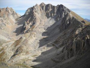 Monte Oserot mountain, Colle Oserot Pass, Italy