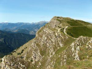 Monte Saccarello mountain, Italy