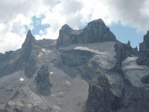 Rätikon, Drei Tuerme mountain range GR, Switzerland