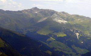 Rastkogel mountain, Austria