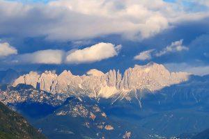 Rosengarten mountain range, Italy