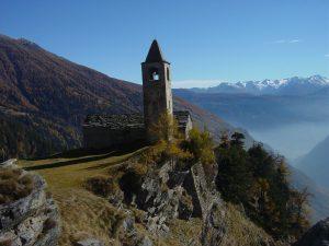San Romerio GR, Poschiavo Valley, Switzerland
