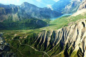 Sanetsch Pass VS, Sanetsch Lake, Switzerland