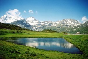 Simplon pass VS, Switzerland