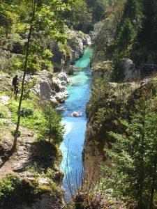 Soča river, Vršič pass , Slovenia