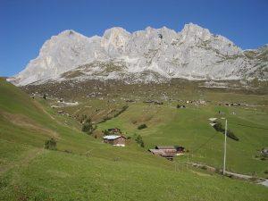 St. Antönien GR, Schijenfluh mountain, Switzerland
