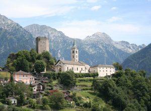 Sta. Maria in Calanca GR, Switzerland