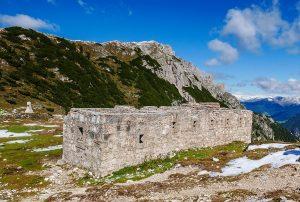 Strudelkopfsattel Plätzwiese, Fortifications, Italy