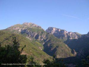 Toraggio mountain range, Italy