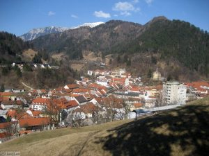 Trzic - Old Town Centre, Slovenia