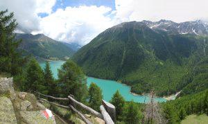 Vernagt reservoir, Italy