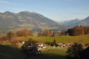Walgau, Frastanz, Gampelün, Austria