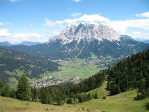 Wetterstein mountain range, Germany