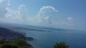 20180513_112544 - Italien - Opicina - Trieste - Adriatisches Meer - Kroatische Küste