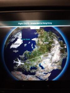 20191206_125044 Flugzeug - Entertainment centre - Landkarte - Europa - Asien