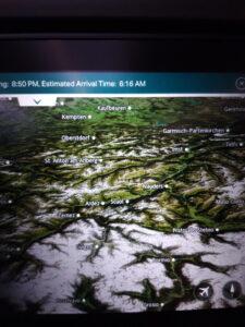 20191206_125044(0) Flugzeug - Entertainment centre - Landkarte - Schweiz