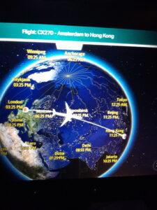 20191206_152521 Flugzeug - Entertainment centre - Landkarte - Europa - Russland - Asien