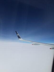 20191208_135114 - Neuseeland - Nordinsel - blaue Luft - weisse Wolken - Fleugzeug