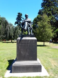 20191209_125833 - Neuseeland - Christchurch - Statue - Zweiter Superintendant von Canterbury (NZ) - William Sefton Moorhouse