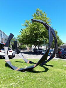 20191209_132237 - Neuseeland - Christchurch - Kunstwerk - Kazu Nakagawa