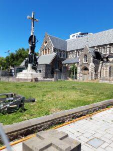 20191209_133948 - Neuseeland - Christchurch - Christchurch Cathedral - Erdbeben 2011- Kriegsdenkmal
