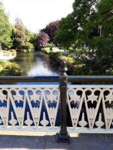 20191209_180130 - Neuseeland - Christchurch - Brücke - Fluss Avon