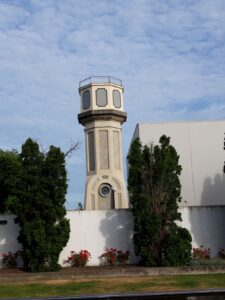 20191210_074541 - Neuseeland - Christchurch - Wasserturm - geschütztes Denkmal