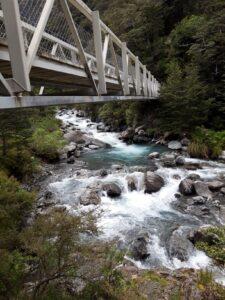 20191210_120703 - Neuseeland - TranzAlpine Bahn - Arthur's Pass - Fluss Bealy - Holzbrücke