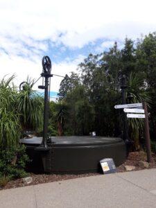 20191215_105240 - Neuseeland - Canterbury NZ - Hanmer SPrings - Thermalquelle - Thermalwasser - Gasbehalter