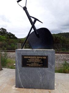 20191216_115846 - Neuseeland - Westland NZ - Pioniere - George Dobson - Bergbau - Steinkohlen