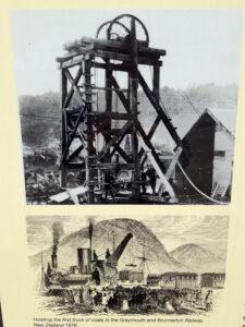 20191216_120100 - Neuseeland - Westland NZ - Pioniere - Bergbau - Steinkohlen - George Dobson - Förderturm