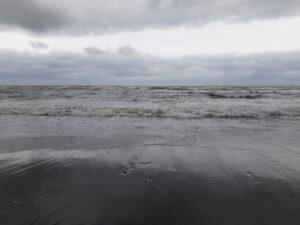 20191217_101734 - Neuseeland - Westcoast - Hokitika - Strand - Tasman Meer