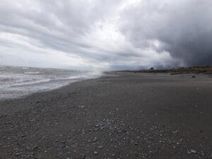 20191217_102405 - Neuseeland - Westcoast - Hokitika - Strand - Tasman Meer