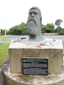 20191217_113946 - Hokitika - Seaview - Maori-Geschichte - Maori-Denkmal
