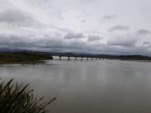 20191217_125656 - Neuseeland - Westcoast - Hokitika - Hokitika Fluss - Tasman Meer