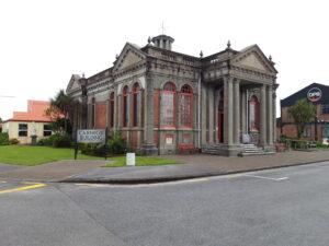 20191217_140101 - Neuseeland - Westcoast - Hokitika - Carnegie Building - Bibliothek - Museum - Erdbeben 2016