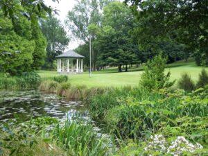 20191219_105156 - Neuseeland - Canterbury - Timaru - Botanischer Garten - Band Rotunda - Musikpavillon