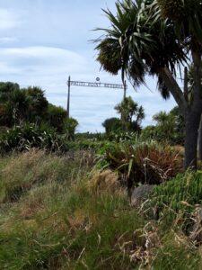 20191219_114203 - Neuseeland - Canterbury - Timaru - Patiti Point Reserve - Zugangstor